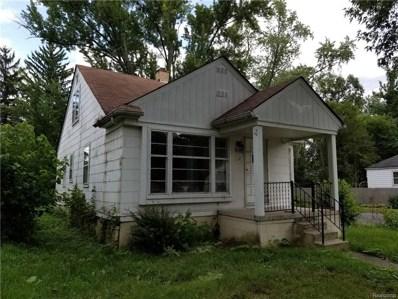 18900 Riverview Street, Detroit, MI 48219 - MLS#: 218089684
