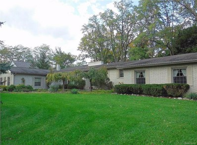1900 Marie Circle, Bloomfield Twp, MI 48302 - MLS#: 218090285
