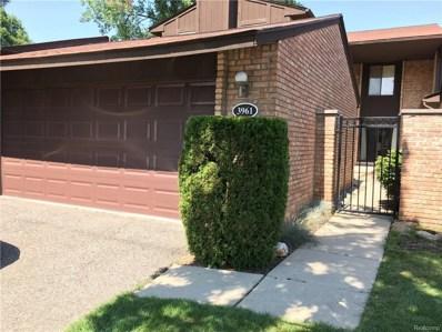 3961 Chablis Street, West Bloomfield Twp, MI 48323 - MLS#: 218092828
