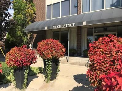 20 Chestnut Street UNIT 201, Wyandotte, MI 48192 - MLS#: 218092966