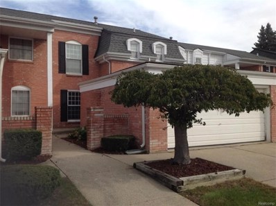 65 Manor Way UNIT 35, Rochester Hills, MI 48309 - MLS#: 218093074