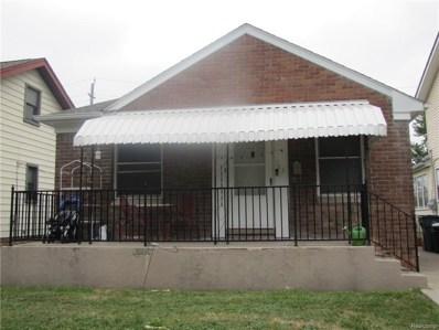 763 Camden Street, Ferndale, MI 48220 - MLS#: 218093125
