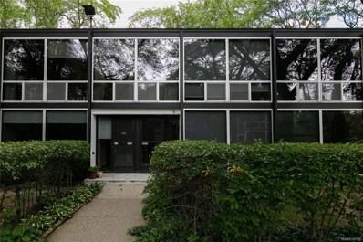 1419 Nicolet Place, Detroit, MI 48207 - MLS#: 218093415