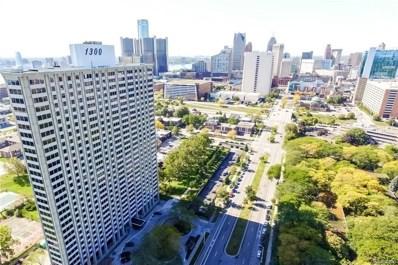 1300 E Lafayette UNIT 1709, Detroit, MI 48207 - MLS#: 218094131