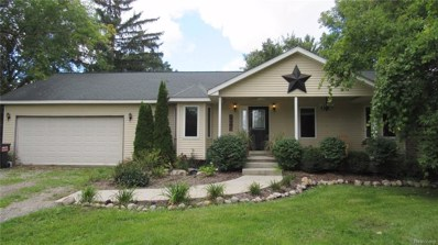 3075 Baldwin Road, Brandon Twp, MI 48462 - MLS#: 218094390