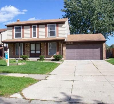 38924 Woodmont Drive, Sterling Heights, MI 48310 - MLS#: 218094964