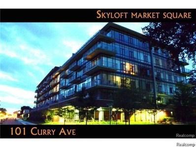 101 Curry Avenue UNIT 510, Royal Oak, MI 48067 - MLS#: 218094997