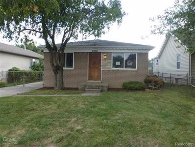 22416 Rein Avenue, Eastpointe, MI 48021 - MLS#: 218095189