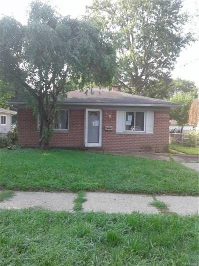 25543 McDonald Street, Dearborn Heights, MI 48125 - MLS#: 218095453