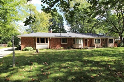 343 Wadsworth Lane, Bloomfield Twp, MI 48301 - MLS#: 218095842