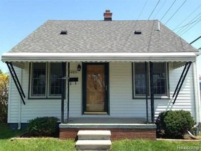 1883 Cora Street, Wyandotte, MI 48192 - MLS#: 218096409