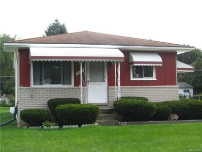 20016 Deering Street, Livonia, MI 48152 - MLS#: 218096537