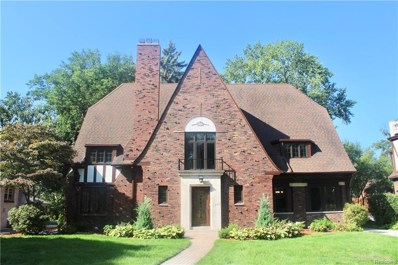 1245 Three Mile Drive, Grosse Pointe Park, MI 48230 - MLS#: 218096937
