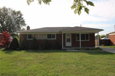 34089 Tyler Drive, Sterling Heights, MI 48310 - MLS#: 218097132