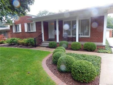 4137 Colonial Drive, Royal Oak, MI 48073 - MLS#: 218097294