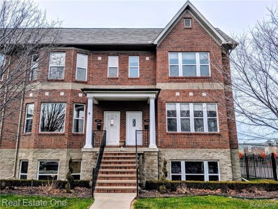 309 E Ferry UNIT 8, Detroit, MI 48202 - MLS#: 218097739
