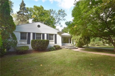 110 S Williamsbury Road, Bloomfield Twp, MI 48301 - MLS#: 218097824