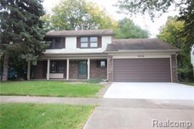6244 Atkins Drive, Troy, MI 48085 - MLS#: 218098540