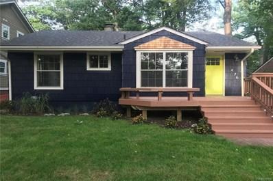 1476 Avondale, Sylvan Lake, MI 48320 - MLS#: 218098755