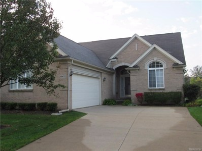 49433 N Glacier UNIT 54, Northville Twp, MI 48168 - MLS#: 218098782