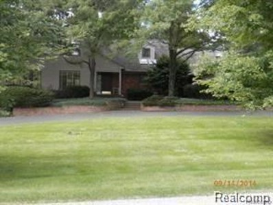 32577 Wing Lake Road, Franklin Vlg, MI 48025 - MLS#: 218099313