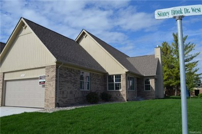 14971 Stoney Brook Drive, Shelby Twp, MI 48315 - MLS#: 218099319