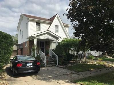 1720 Dee Street, Wyandotte, MI 48192 - MLS#: 218099346