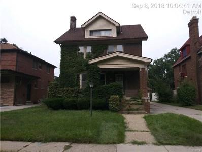 18105 Fairfield Street, Detroit, MI 48221 - MLS#: 218099563