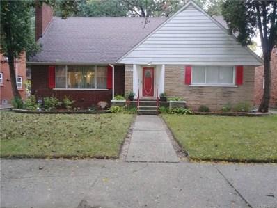 16591 Bentler Street, Detroit, MI 48219 - MLS#: 218099774