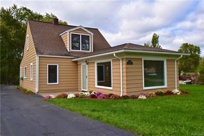 3892 Alida Avenue, Rochester Hills, MI 48309 - MLS#: 218099981