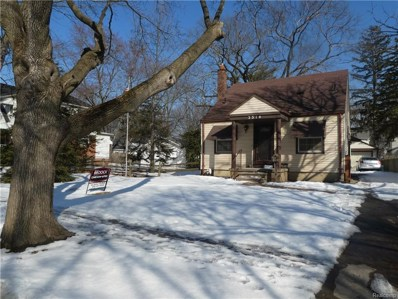 3314 Cummings Avenue, Royal Oak, MI 48073 - MLS#: 218100084