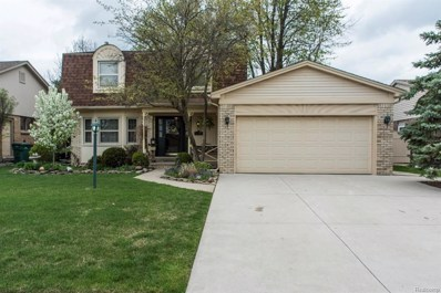 16823 White Plains Drive, Macomb Twp, MI 48044 - MLS#: 218100242
