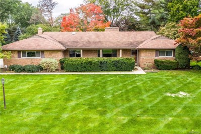 3535 Middlebury Lane, Bloomfield Twp, MI 48301 - MLS#: 218100252