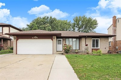 4769 Ardmore Drive, Sterling Heights, MI 48310 - MLS#: 218100521