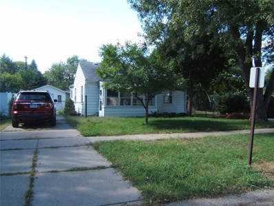 1376 S Harvey Avenue, Westland, MI 48186 - MLS#: 218100565