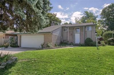 868 Provincetown Road, Auburn Hills, MI 48326 - MLS#: 218100731