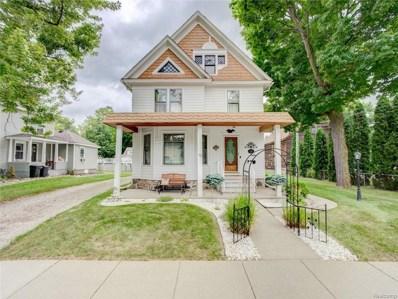 122 Benjamin Street, Romeo Vlg, MI 48065 - MLS#: 218100804
