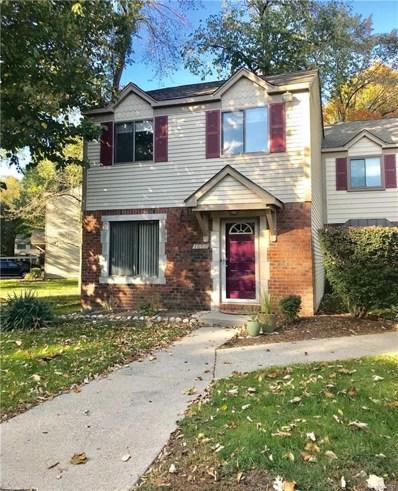 1654 River View Drive, Rochester Hills, MI 48309 - MLS#: 218101173