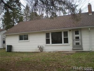 693 Pontiac Street, Oxford Twp, MI 48371 - MLS#: 218101186