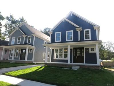 1827 N Center Street, Royal Oak, MI 48073 - MLS#: 218101310