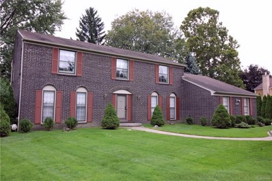 1281 Hickory Hill Drive, Rochester Hills, MI 48309 - MLS#: 218101504