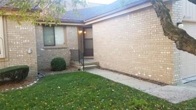 41483 Ambercrest Drive, Sterling Heights, MI 48314 - MLS#: 218102742