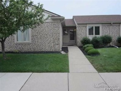45661 Plum Tree Lane, Shelby Twp, MI 48315 - MLS#: 218103324