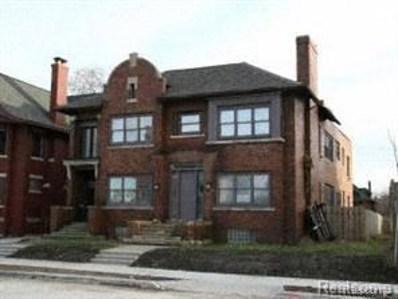 296 Eliot Street, Detroit, MI 48201 - MLS#: 218103844