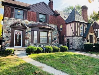 16860 Glastonbury Road, Detroit, MI 48219 - MLS#: 218104608