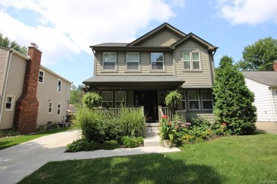 1029 Ferris Avenue, Royal Oak, MI 48067 - #: 218104877