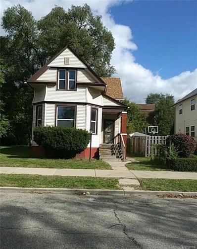 3342 24TH Street, Detroit, MI 48208 - MLS#: 218105123