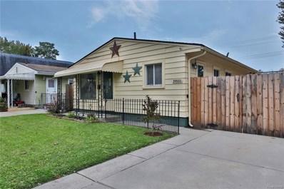 19551 Stanley Street, Melvindale, MI 48122 - MLS#: 218105176