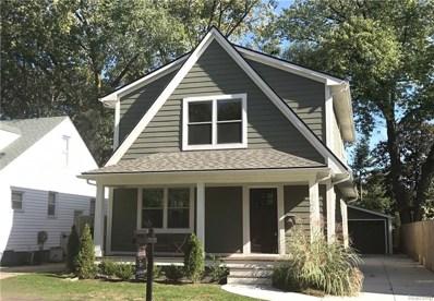 126 N Vermont Avenue, Royal Oak, MI 48067 - MLS#: 218105511