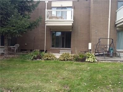 21 Dickinson Street UNIT J, Mount Clemens, MI 48043 - MLS#: 218105810